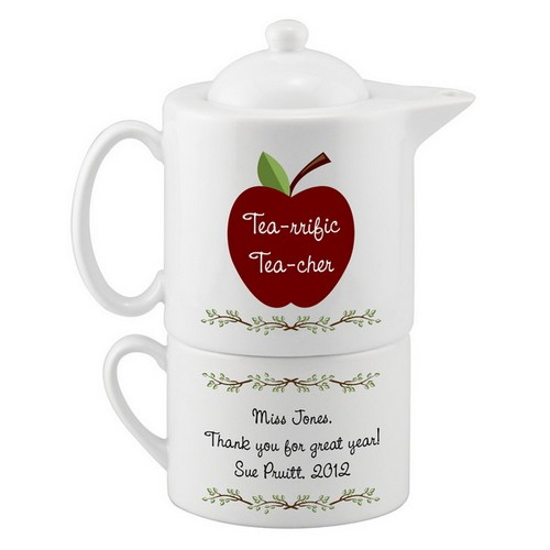Personalized Tea Set for Teachers