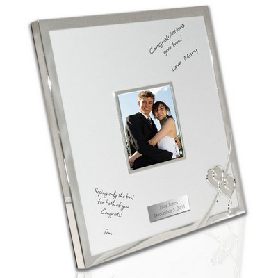 Personalized True Love Autograph Frame by Lenox