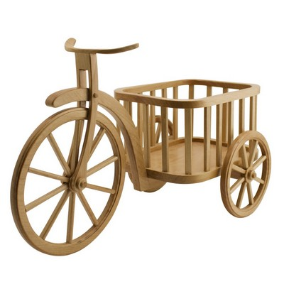Personalized Vintage Wooden Tricycle