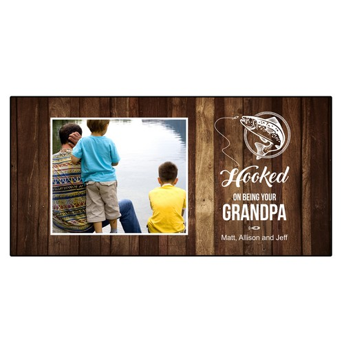 Personalized Wall Panel for Grandpa