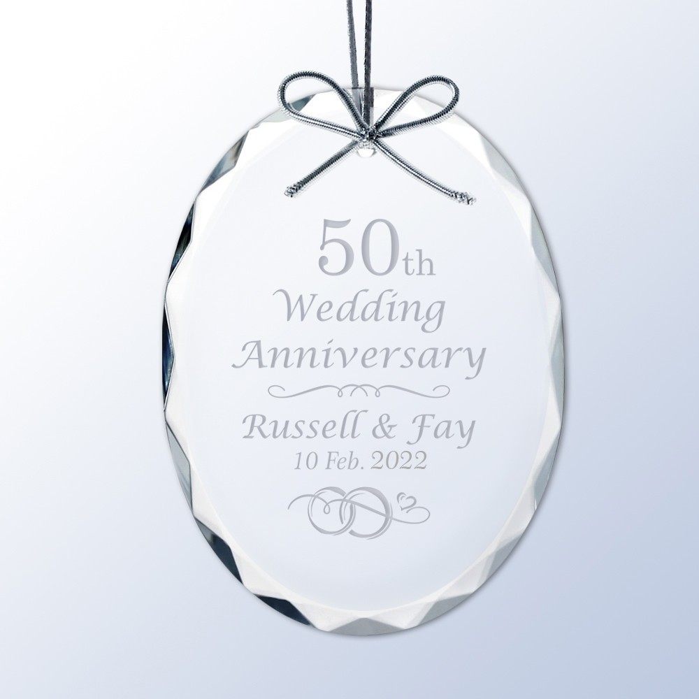 25 Years Anniversary PERSONALIZED 2019 Tree Ornament GIFT