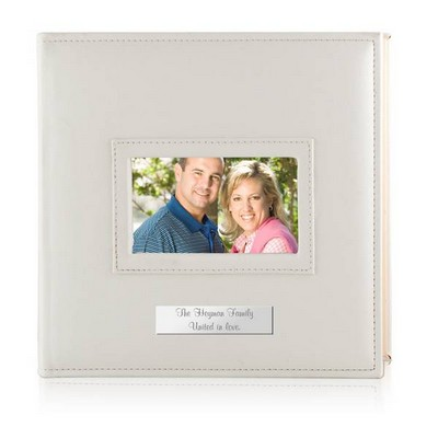 Personalized White 4x6 Photo Album
