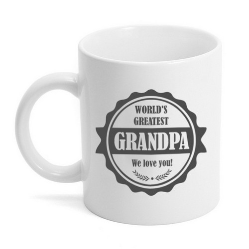 Personalized Worlds Greatest Grandpa Mug