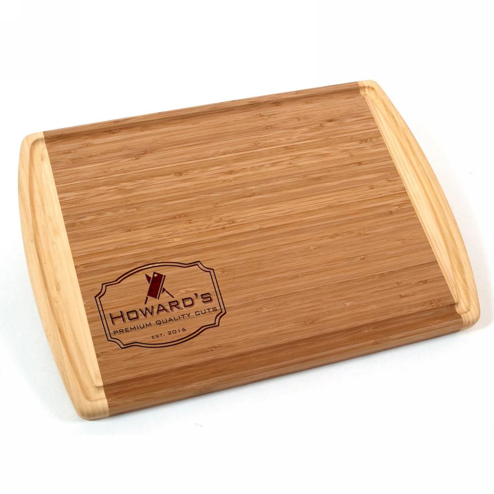 Premium Cuts Engraved Bamboo Cutting Board