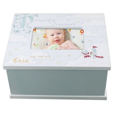 Prince Treasure Personalized Memory Box