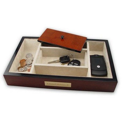 Elegant Wooden Valet for Men