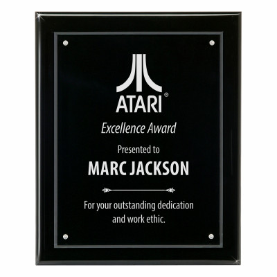 Rise Above Blackwood and Acrylic Wall Award Plaque