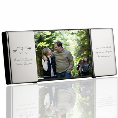 Romantic Personalized 4x6 Silver Frame