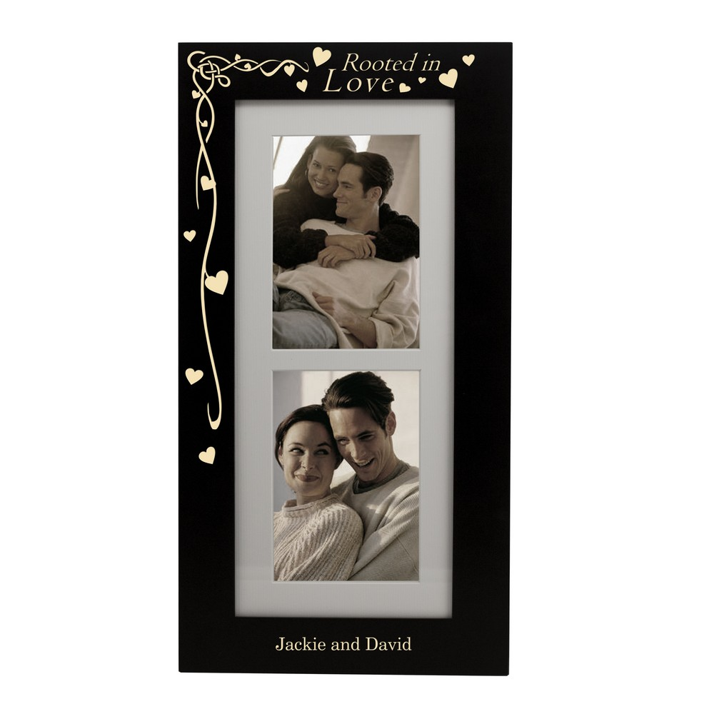 Library of banner freeuse library black and white heart ... |Love Black Frame