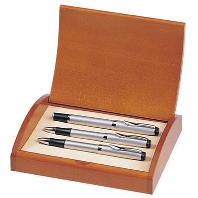 Personalized Executive Personalized Pen Roller Ball Pen and Pencil Set