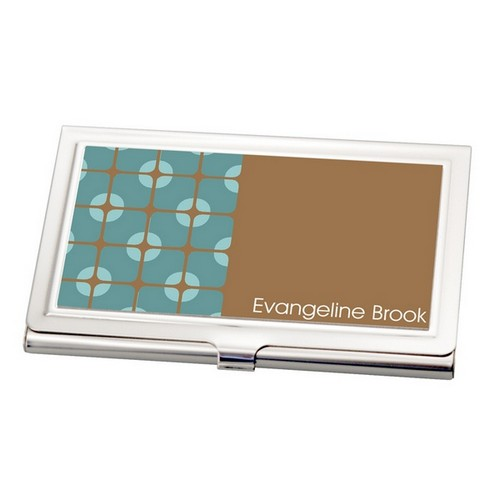 Modern Pattern Business Card Holder