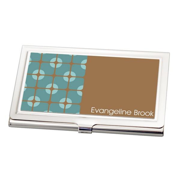 Modern pattern business card holder for Modern business card case