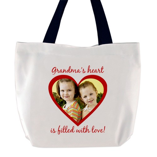 Heart Filled with Love Photo Tote Bag