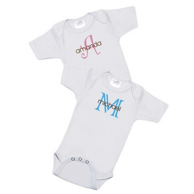 Personalized Name Baby Bodysuit