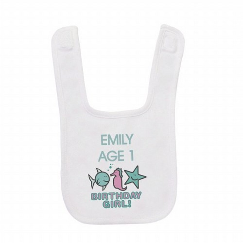 Memorable Gifts  Babies on First Birthday Baby Bibs