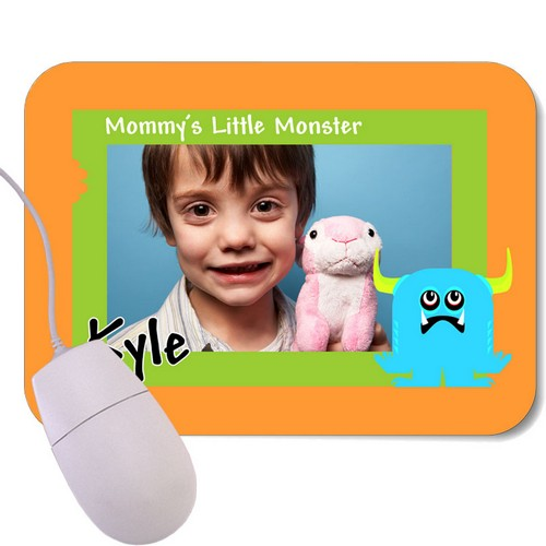 Little Monster Photo Mouse Pad
