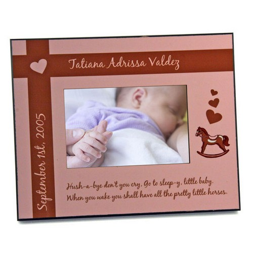 New Precious Baby Girl Keepsake Frame