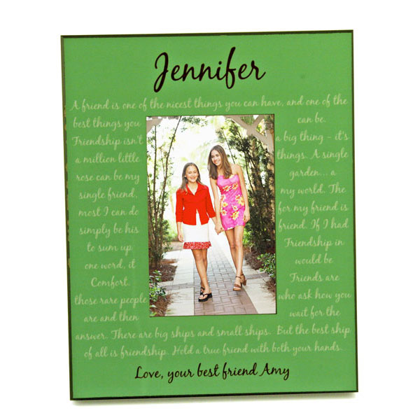 Personalized Best Friend Picture Frame | Friendship Photo Frame