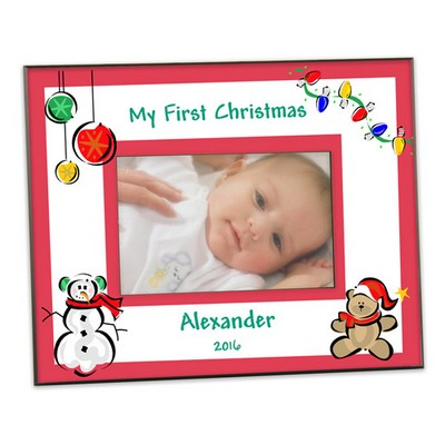 Babys First Christmas Picture Frame