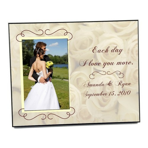 Wedding Roses Photo Frame