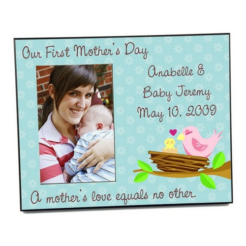 Personalized First Mothers Day Picture Frame
