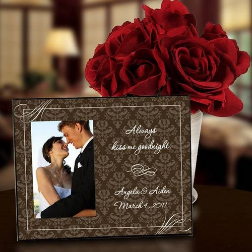Always Kiss Me Goodnight Photo Frame
