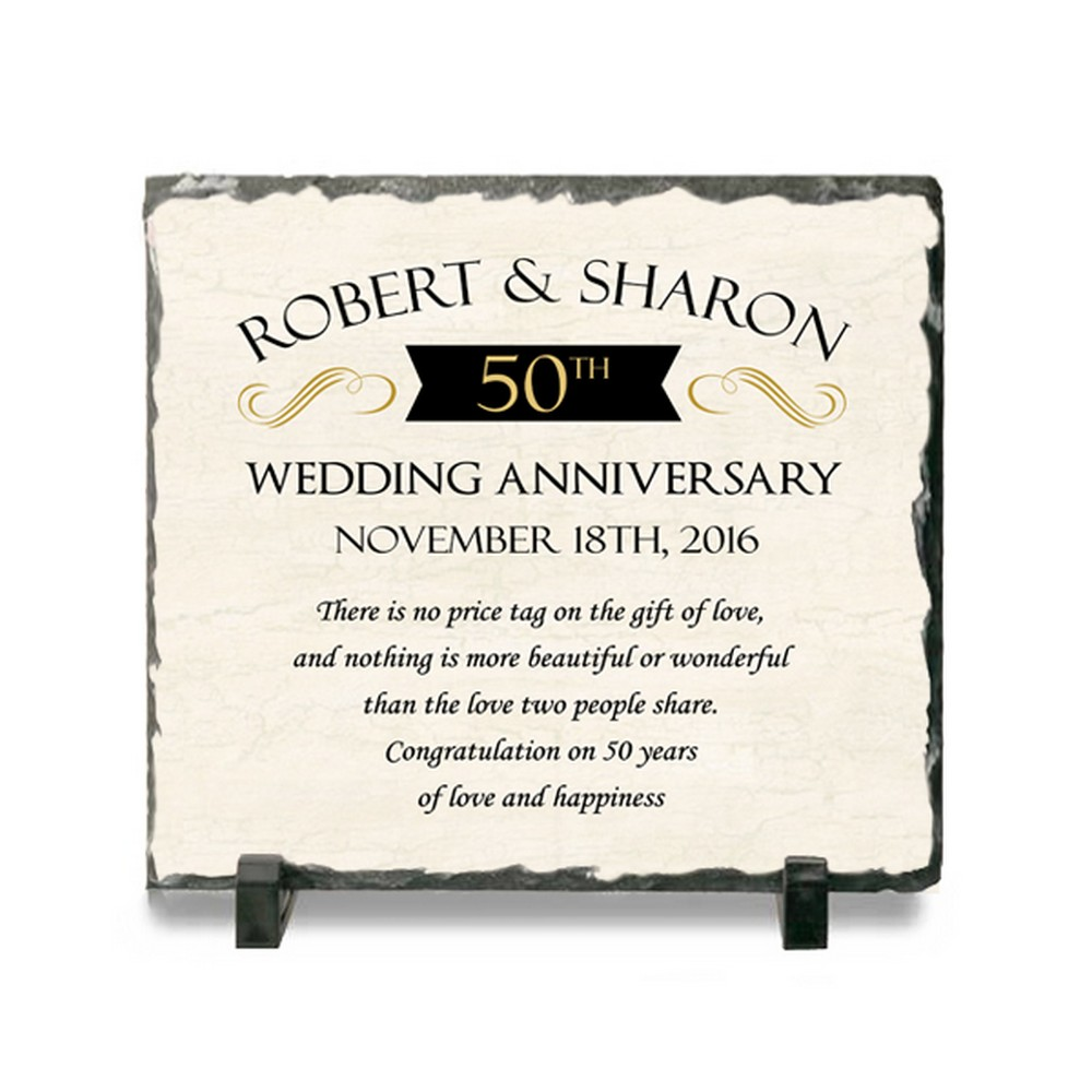 ENGRAVED WITH YOUR OWN WORDING PERSONALISED 20TH YEAR ANNIVERSARY PLAQUE