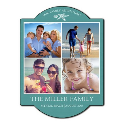 Our Family Adventures Photo Wall Sign