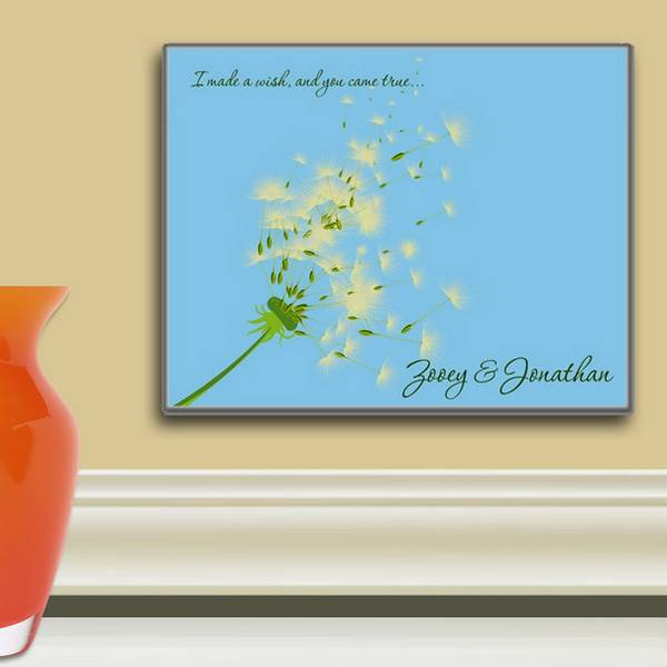 personalized sweetest day art panel