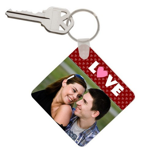 Love Photo Keychain