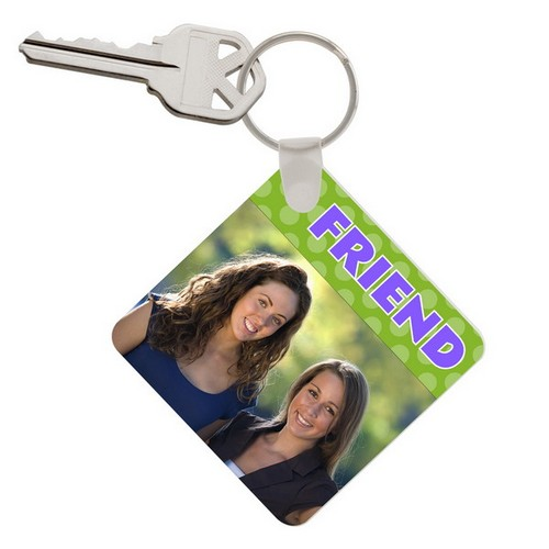 Friend Photo Keychain