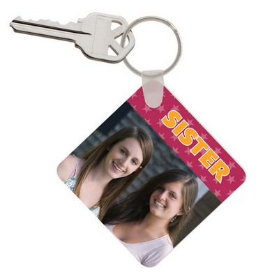 Sister Photo Keychain