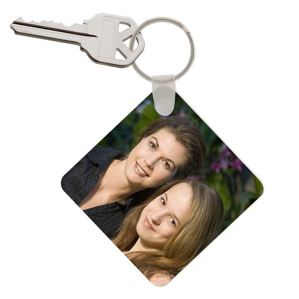 Personalized Key Chain for Woman Custom Black Photo Calendar Safety Key Chain for Mother\u2019s Day Gift Engrave Message Love Date with Key Ring