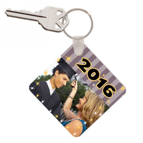 Graduation Photo Keychain