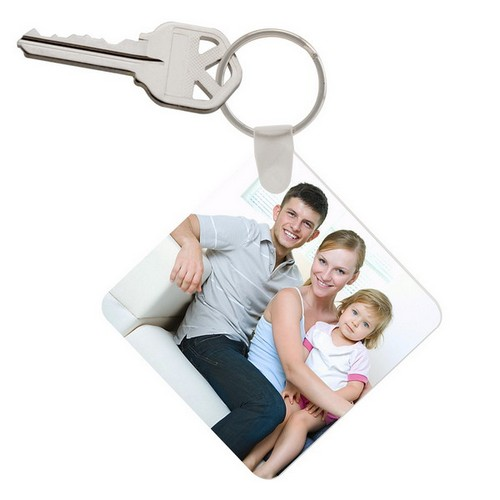 Fathers Day Personalized Photo Keychain