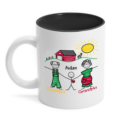 Letter to Grandparents Mug