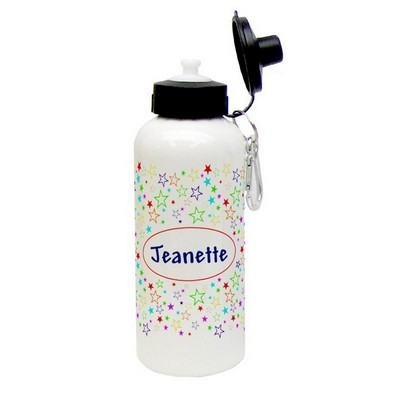 Colorful Stars Aluminum Water Bottle