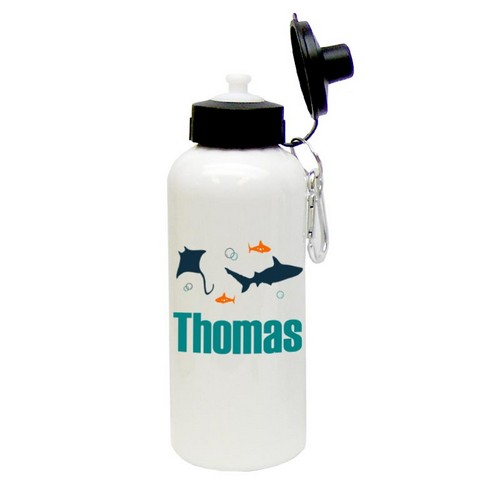 Personalized Under the Sea Water Bottle
