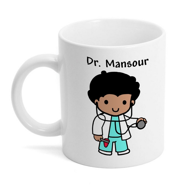 Custom Doctor Character Coffee Mug