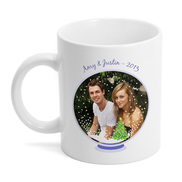 Snow Globe Photo Coffee Mug