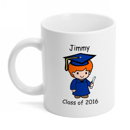 Graduate Custom Character Coffee Mug
