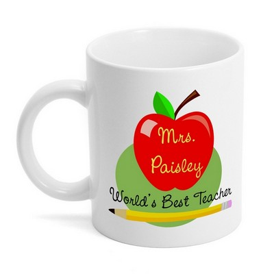 Worlds Best Teacher Mug