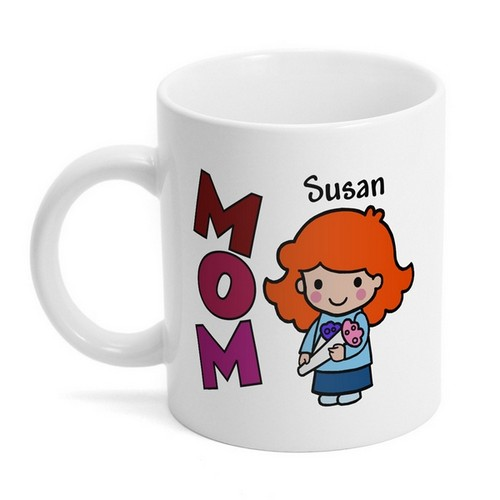 Custom Character Mom Mug