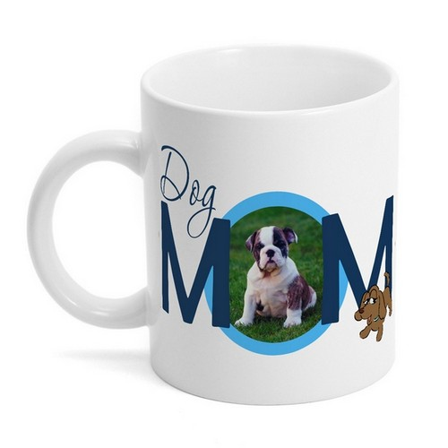 Dog Mom Photo Mug