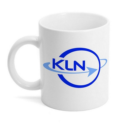 White Ceramic Logo Mug