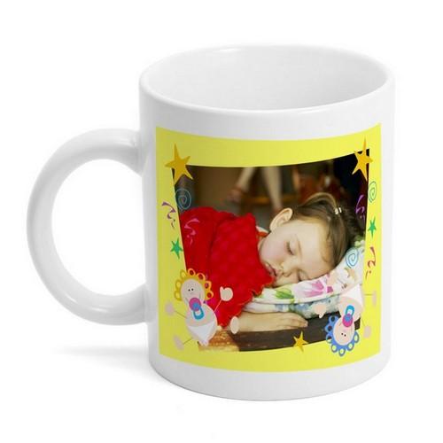 Memorable Gifts  Babies on Bouncing Baby Photo Mug