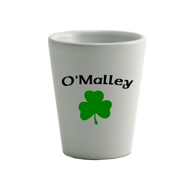 Shamrock Shot glass