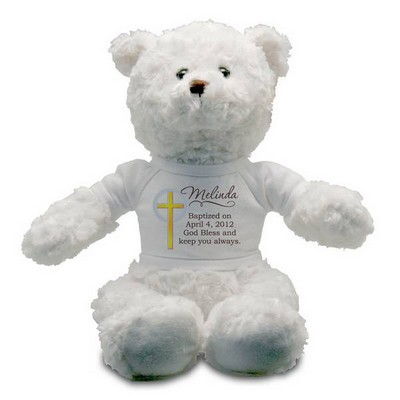 My Baptism Personalized Teddy Bear
