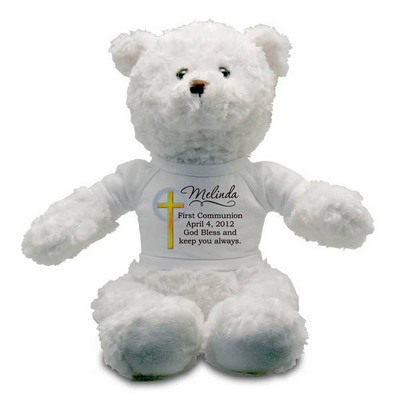 My First Communion Personalized Teddy Bear