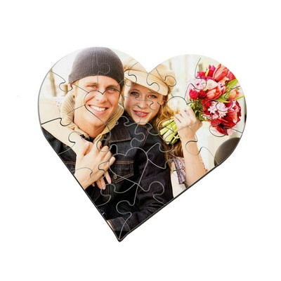 Design Your Own Photo Heart Puzzle